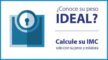 Conoce su peso ideal, calcula tu indice de masa corporal