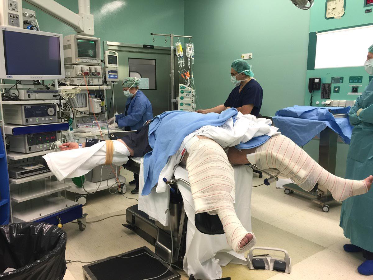 Control anestésico en quirófano