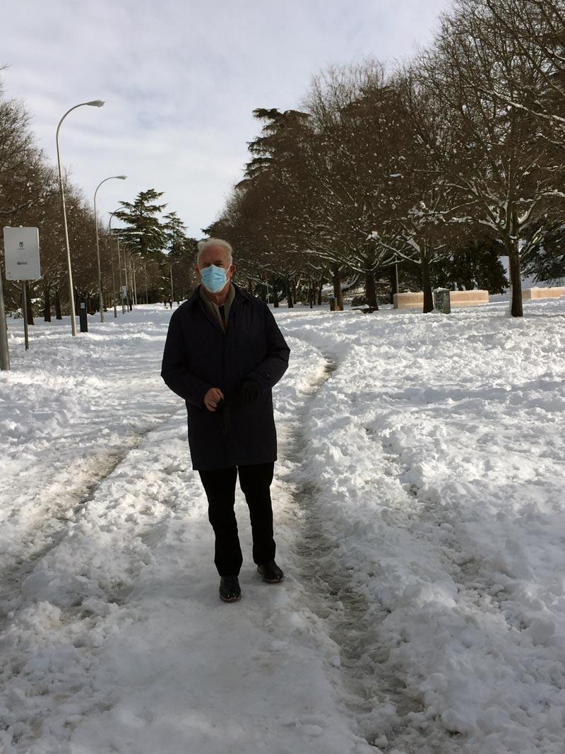 Camino del hospital